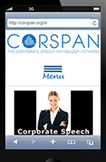 CORSPAN - The Corporate Speech Pathology Network