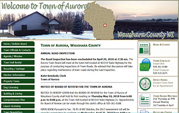 Town of Aurora, Waushara County, WI