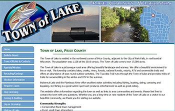 Town of Lake, Price County, WI