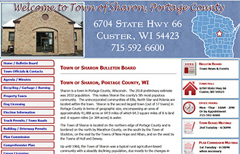 Town of Sharon, Portage County