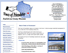 Town of Friendship, Fond du Lac County